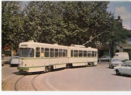 CP Trains - Tramways De St Etienne - Ligne Bellevue-Terrasse - CP N° 02 - Saint Etienne