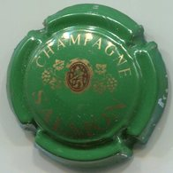 CAPSULE-CHAMPAGNE SALMON N°04 Vert - Champagne