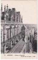 79  Chateau D'Amboise. - Facade Sur La Loire. - ND - Amboise