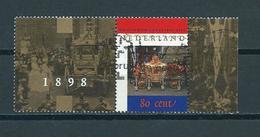 1998 Netherlands Golden Coach Used/gebruikt/oblitere - Periode 1980-... (Beatrix)