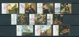 1999 Netherlands Complete Set 17th Century Art Used/gebruikt/oblitere - Periode 1980-... (Beatrix)