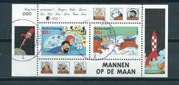 1999 Netherlands Complete M/Sheet Suske En Wiske,comics Used/gebruikt/oblitere - Blokken