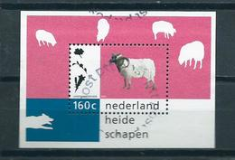 1997 Netherlands Complete M/Sheet Heideschapen Used/gebruikt/oblitere - Blokken