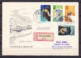 DDR - 1970 - Michel Nr. 1617/1620 - Einschreiben - Gebraucht
