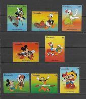 Disney Set Grenada 1996 Dances MNH - Disney