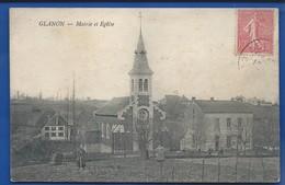 GLANON     Mairie Et école   Animées - France