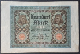 EBN5 - Germany 1920 Banknote 100 Mark Pick 69b #P.16735299 - [ 3] 1918-1933 : Weimar Republic
