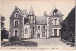 37 Amboise. - Le Clos De Lucé, Oratoire De Léonard De Vinci. - ND Phot. - Amboise