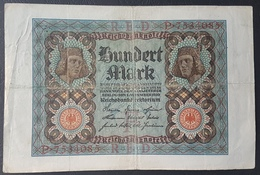 EBN5 - Germany 1920 Banknote 100 Mark Pick 69b #P.7534085 - [ 3] 1918-1933 : Weimar Republic