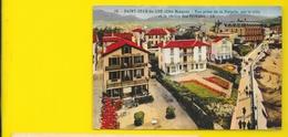 ST JEAN De LUZ Colorisée Hôtel Villa Bel-Air De La Pergola (Bloc) Pyrénées Atlantiques (64) - Saint Jean De Luz