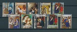 2005 Netherlands Complete Set Kerst,weihnachten,christmas Used/gebruikt/oblitere - Periode 1980-... (Beatrix)