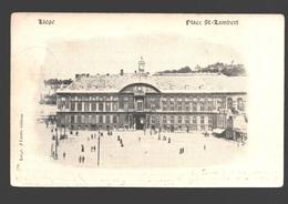 Liège - Place St-Lambert - 1900 - Dos Simple - éd. J. Piette - Liege