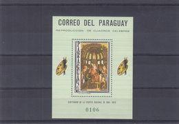 Paraguay - Michel BF 95 ** - SPECIMEN - Muestra - Peinture - Andres Montegna - - Paraguay