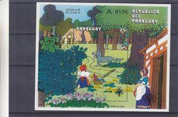 Paraguay - Michel BF 345 ** - SPECIMEN - Muestra - Contes De Grimm - Petir Châperon Rouge - Année De L'Enfance - Märchen, Sagen & Legenden