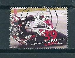 2003 Netherlands Motorcycle Used/gebruikt/oblitere - Periode 1980-... (Beatrix)