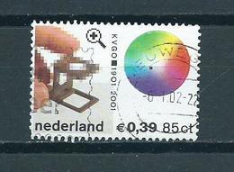 2001 Netherlands 100 Years KVGO Used/gebruikt/oblitere - Periode 1980-... (Beatrix)