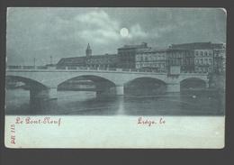 Liège - Le Pont-Neuf - Liège, Le ... - Dos Simple - Papier Bleu - Liege