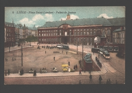 Liège - Place Saint Lambert - Palais De Justice - Tram / Tramway - Luik