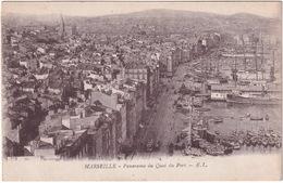 Marseille - Panorama Du Quai Du Port - E.L. - Oude Haven (Vieux Port), Saint Victor, De Panier