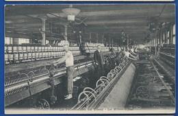 La Fabrication Du Tissu   Les Métiers à Filer    Animées - Industrie