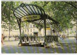 CP Trains - Métro De Paris - Station Place Des Abbesses - Métro Parisien, Gares