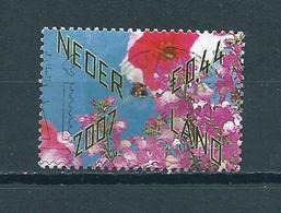 2007 Netherlands Bloemen,flowers Used/gebruikt/oblitere - Periode 1980-... (Beatrix)