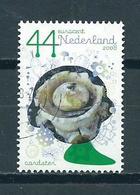2008 Netherlands Pilze,paddestoel,Aardster Used/gebruikt/oblitere - Periode 1980-... (Beatrix)