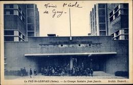 Cp Pré St. Gervais Seine Saint Denis, Le Groupe Scolaire Jean Jaurès - France