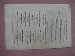 LA MARSEILLAISE Dessins De CHARLET 1840 Editions Jules Laisné 12 Pages 18X27 TBE - Historical Documents