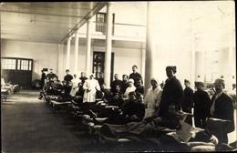 Cp Villiers Sur Marne Val De Marne, In Einem Lazarett, Kranke Und Krankenschwestern - Francia