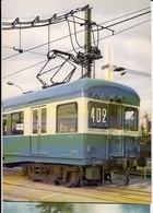 CP Trains - Métro De Paris - Matériel Z - Rame N° 402 - Métro Parisien, Gares