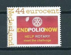 Netherlands Persoonlijke Postzegel Endpolionow Used/gebruikt/oblitere - Netherlands