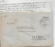 WZ L 2  Feldpost Von Traunkirchen  An Die Feldpostnummer 25628A Am 27. III 45 - 1918-1945 1. Republik