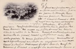 Dinant Précurseur La Vallée De La Meuse Circulée En 1900 !!! - Dinant