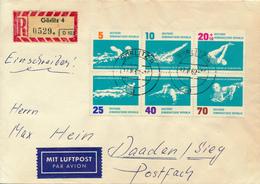 GÖRLITZ - 1962 , X. Europameisterschaften Im Schwimmen - Nach Daaden / Sieg - DDR