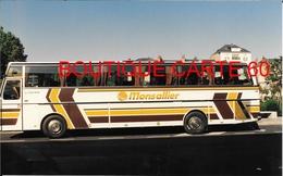 BUS AUTOBUS AUTOCAR - PHOTO 15 X 9,5 – MONSALLIER 35- FOUGERES ??? , (133) - Bus & Autocars