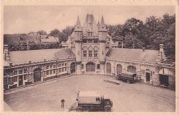 La Cour Arrière Avec Salle De Gymnastique Et Garages De La Caserne Léopold - Gent
