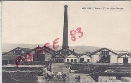 47 VILLENEUVE-sur-LOT Usine Berger Attelage - Villeneuve Sur Lot