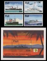 Fidschi 1999 - Mi-Nr. 873-876 & Block 29 ** - MNH - Schiffe / Ships - Fidji (1970-...)