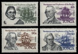 Tonga 1984 - Mi-Nr. 869-872 ** - MNH - Schiffe / Ships - Tonga (1970-...)