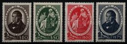 Portugal 1944 - Mi-Nr. 669-672 ** - MNH - Avelar Brotero - 1910-... Republik