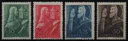 Portugal 1948 - Mi-Nr. 720-723 ** - MNH - Heiliger Johannes Von Brito - 1910-... Republik