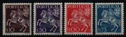 Portugal 1944 - Mi-Nr. 665-668 ** - MNH - Pferde / Horses - 1910-... Republik