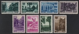Russia / Sowjetunion 1949 - Mi-Nr. 1301-1308 ** - MNH - Kurorte / Sanatoria - 1923-1991 UdSSR