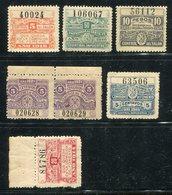 Stempel-/Gebuehrenmarken / Lot Mit 7 Werten ** (5/461) - Briefmarken