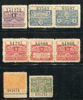 Stempel-/Gebuehrenmarken / Lot Mit 8 Werten ** (5/462) - Briefmarken