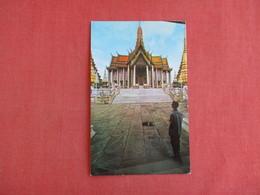 Thailand Bangkok Emerald Buddha Temple Has Stamp & Cancel  Ref 3130 - Thaïlande