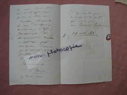 Hymne à La Fraternité Paroles Et Musique Du Citoyen A. Elwart Féte De La Concorde 14 Mai 1848 - Historical Documents