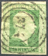 Preußen 4 Pf Michel 5 Mit Nummernstempel 374 ELBING (2-271) - Preussen