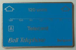 BELGIUM - L&G - 120 Units - Bell Telephone - Demo - 00 216 - 900ex - Mint - RARE - Belgique